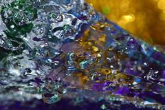 (Nataliya Corallium) Tags: abstract color macro reflection water reflections flow nikon surreal bubbles drop h2o drip bubble droplet swirl splash nikkor liquid highspeed liquidart