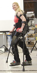 Amanda Boxtel, eLEGS Ambassador walks in eLEGS at Berkeley Bionics (BerkeleyBionics) Tags: amanda standing training walking stand md technology bionic wheelchair dream injury science demonstration event research user exoskeleton locomotive tall possible ambassador cp athlete robotics powerup trials engineer pilot sci active mobility rehab engineers paraplegic spinal cuttingedge ability clinical disability robotic paralysis gait hmi cerebralpalsy boxtel physicaltherapy possibility advances paralyzed bionics spinalcordinjury testpilot exoskeletons physicaltherapist adaptivetechnology elegs humanmachineinterface investigational berkeleybionics amandaboxtel eythorbender adamzoss wearablerobot exoskeletonsuit investigationalstudies mobilityoption lowerextremityweakness clinicalprotocols elegspartners
