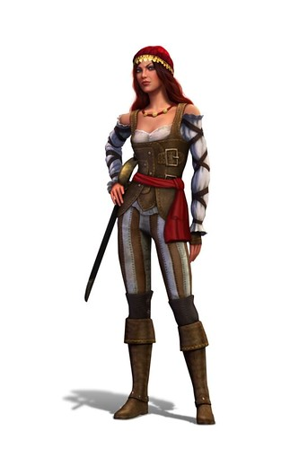 The Sims Medieval: Pirates and Nobles Hot Pirate Lady