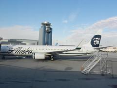 N323AS Alaska Airlines Boeing 737-990(WL) @ Las Vegas (orclimber) Tags: las vegas alaska plane airplane airport international boeing airlines mccarran n323as 737990wl