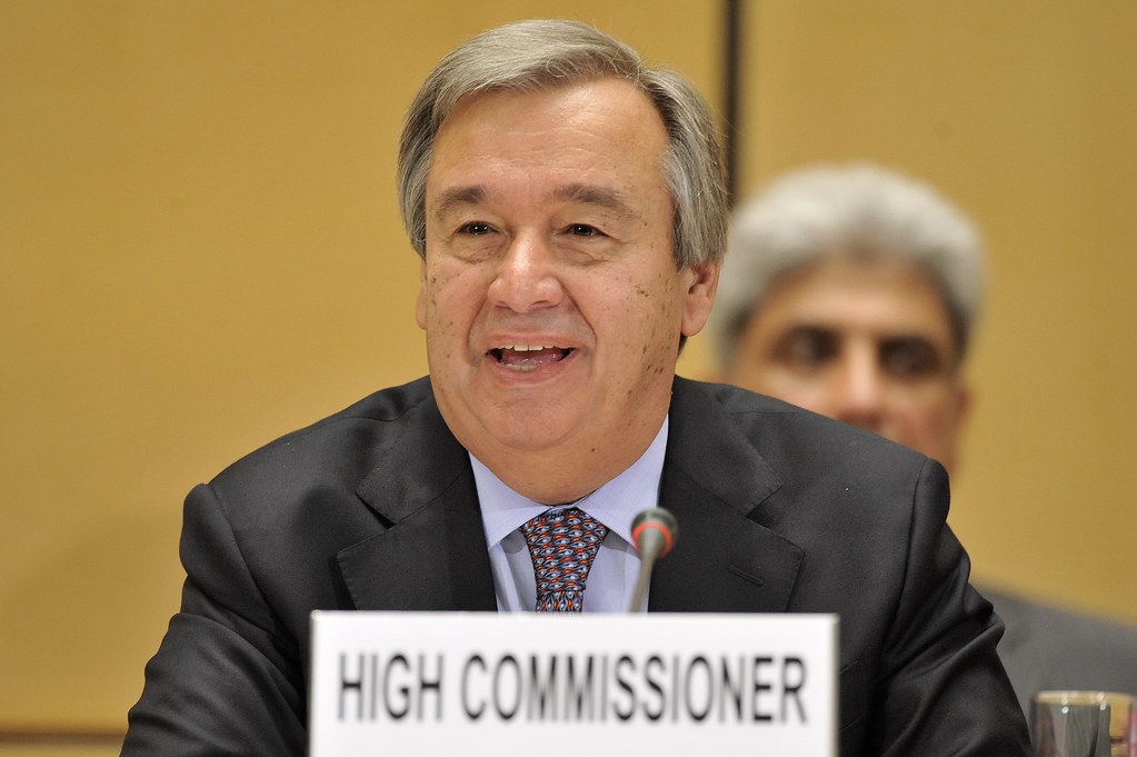 UNHCR News Story: ExCom Meeting: UNHCR chief warns that displacement crises multiplying, becoming more unpredictable