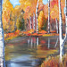 Fall in the Adirondacks. Oil painting. Artist: Jennifer Millward, Croghan NY. jenmillward.weebly.com/