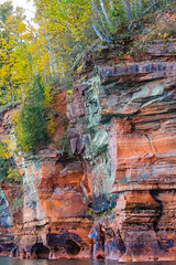 rough around the edges (jimmy_racoon) Tags: autumn fall up wisconsin landscape islands north upnorth apostleislands bayfield apostle canonxsi