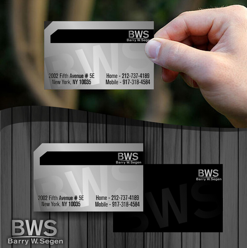 Logo design& Biz card design- BWS