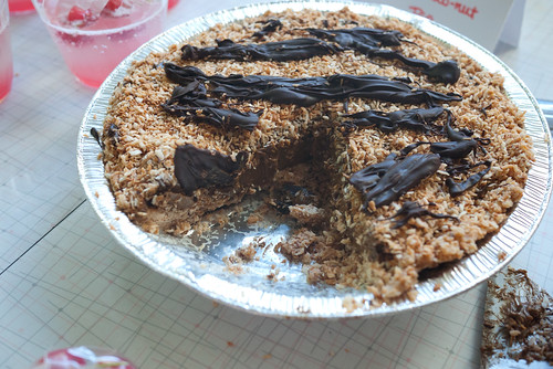 Frozen Choconut Pie