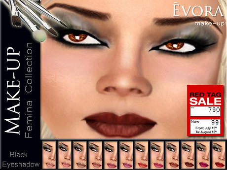 Evora Make-up by Cherokeeh Asteria