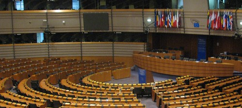 European Parliament assembly hall