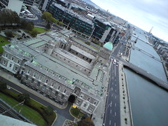 Custom House, River Liffey & Poolbeg (eyair) Tags: ireland panorama dublin tower liberty hall view libertyhall siptu ashmashashmash