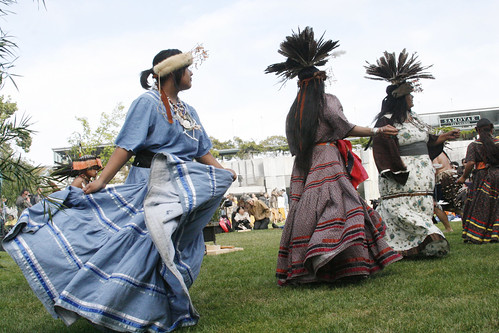 Ohlone Native American Tribal Dancers