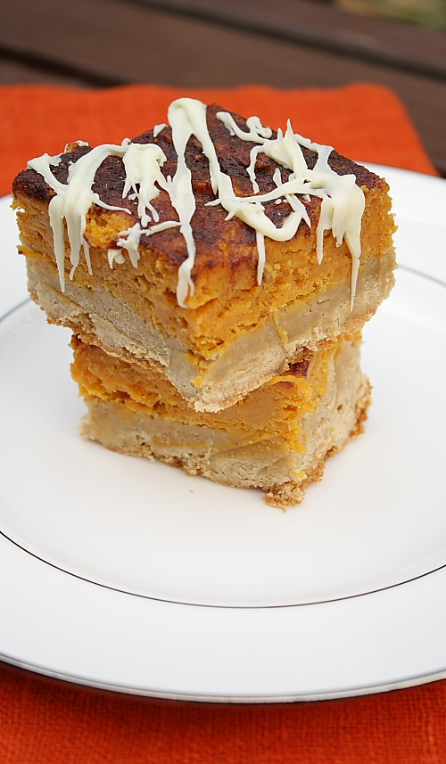 Pumpkin Pie Snickerdoodle Bar
