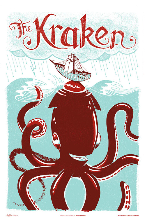 The Kraken by Alex Pearson