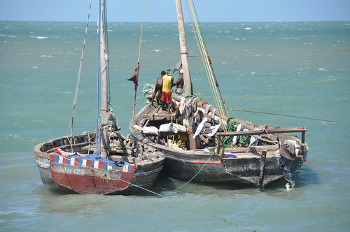 Dhows in Bagamoyo