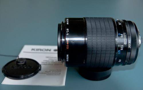 Kiron 105mm f2 8 Ai Good Price? | No metering lenses on Nikon DSLRs