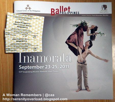 Inamorata,Ballet Philippines,CCP
