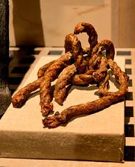 FSM holy artifact (Pyrat Wesly) Tags: arizona phoenix museum canon pirates rope knot fsm flyingspaghettimonster nationalgeographic pirateship 18200mm arizonasciencecenter whydah 60d realpirates