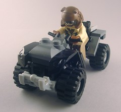 Halo: Reach Mongoose (Nick Brick) Tags: lego halo atv reach unsc mogoose nickbrick