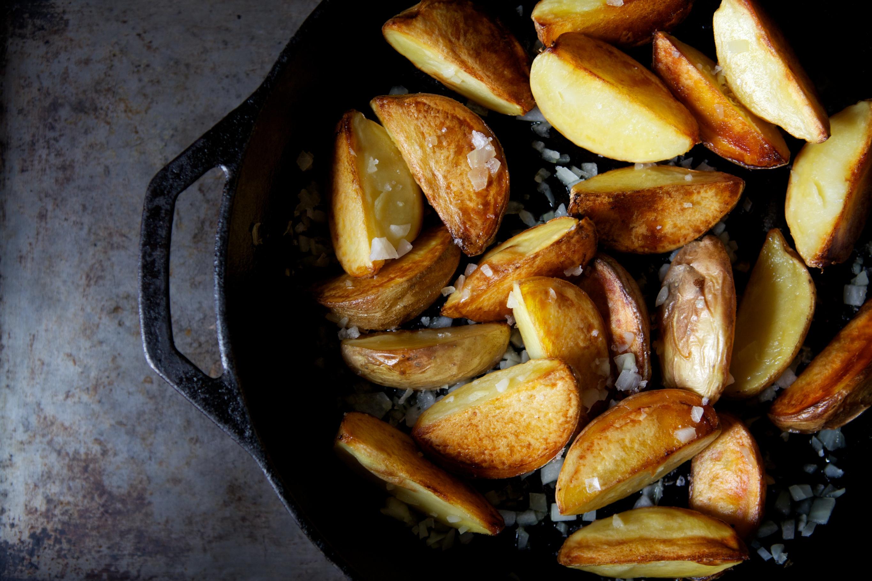 The WFP: Greek Mahogany Potatoes