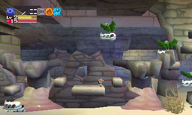 Cave Story 3DS - Sandzone 13