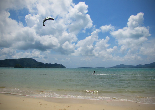 Kite Surfing in Phuket
