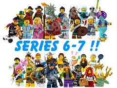 Collectable MF's Series  6 & 7 (Commdr_Neyo ☮) Tags: