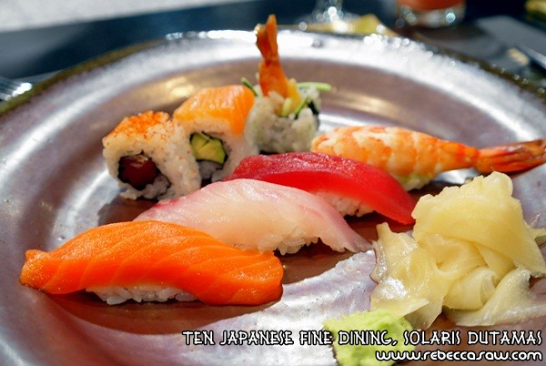 Ten Japanese Fine Dining, Solaris Dutamas-16