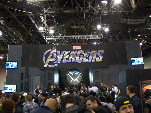 New York Comic Con Marvel Booth
