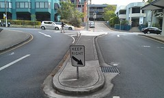 Brisbane: Keep right!