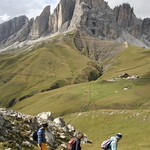 "The Dolomites<a href=""http://farm7.static.flickr.com/6059/6254078157_c70307e0b3_o.jpg"" title=""High res"">∝</a>"