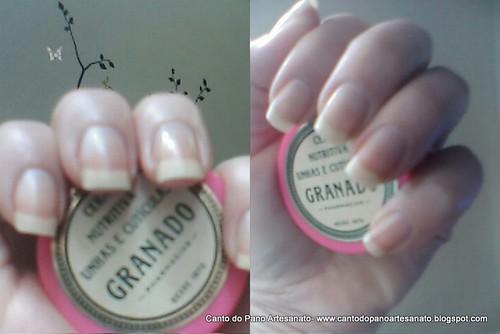 Minhas unhas e cutículas fortalecidas com esta cera da Granado. by Ana Canto