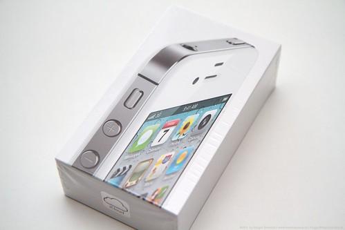 Die übliche iPhone 4(S) Verpackung
