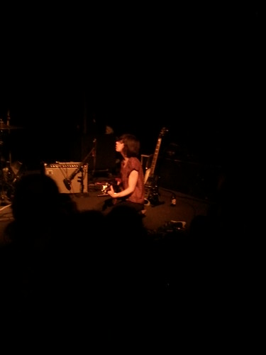 Carrie Brownstein Rocking Out