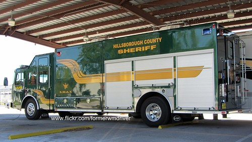 Hillsborough County Sheriff   SWAT   E One Typhoon