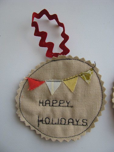 Happy Holidays Bunting