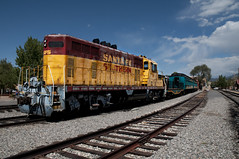 Santa Fe (munn1) Tags: newmexico santafe train nikon depot nik topaz d300 viveza2 2011091830gnewmexico