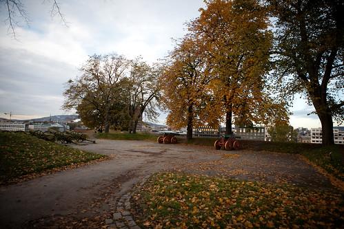 Akerhusfestning sies å være er et av Oslos hjemsøkte steder