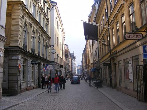 Las calles de Gamla Stan