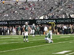 New York Jets Kicker Nick Folk
