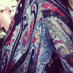 #frocktober 25th lounging in paisley