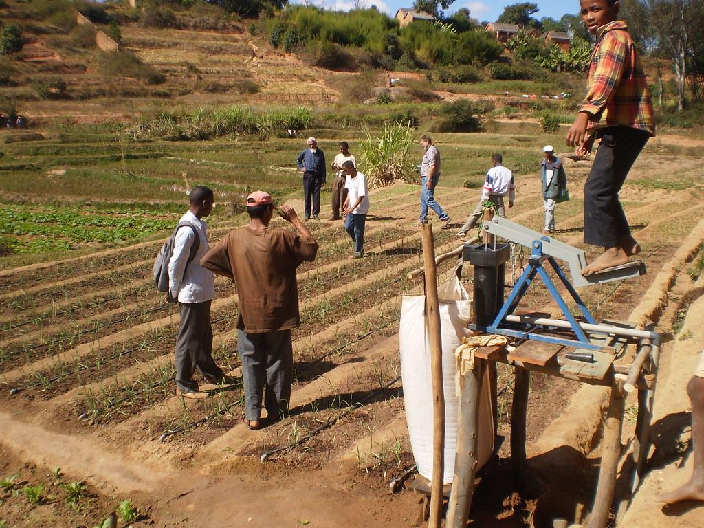 Utilisation systeme irrigation