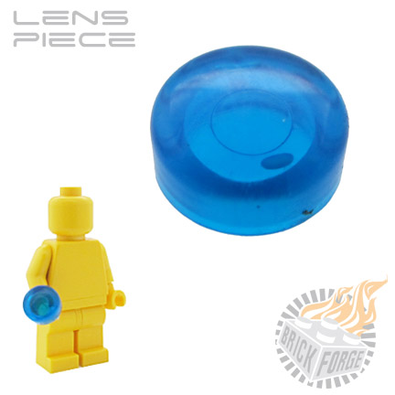 Lens Piece - Trans Dark Blue