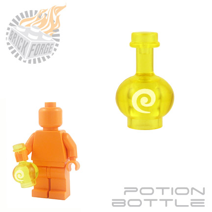 Potion Bottle - Trans Yellow (Restorative)