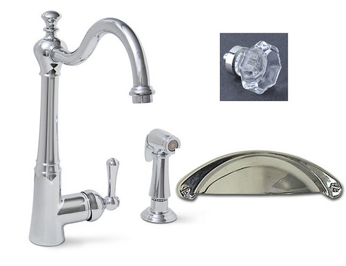 7 Faucet Finishes For Fabulous Bathrooms: Would Polished Chrome Or Brushed Nickel Look Better? (Pics