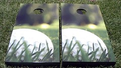 Golf Cornhole Boards
