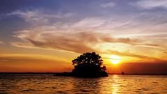 #850C5181- Just before end of a day (Zoemies...) Tags: sunset sea beach clouds balikpapan melawai zoemies