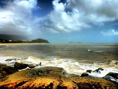 Windy Seas (-hedgey-) Tags: ocean sea sky beach nature clouds landscape sand shoreline shore cairns mygearandme mygearandmepremium mygearandmebronze mygearandmesilver mygearandmegold mygearandmeplatinum mygearandmediamond soulselection