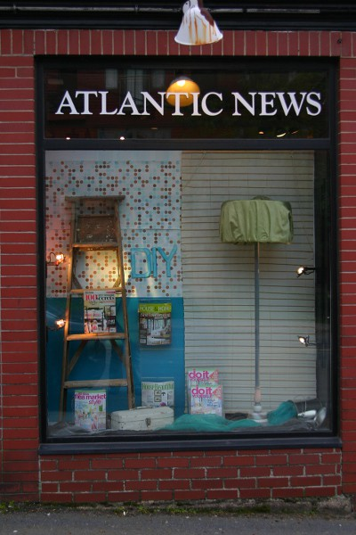 DIY window display