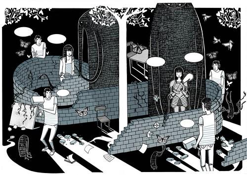 amores minúsculos: doble página (2011)