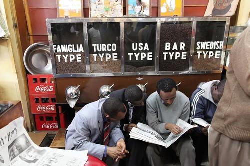 Tomoca Coffee Shop, Addis Ababa
