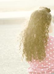 (Ebtesam.) Tags: pink sunlight girl nikon outdoor curly saudi arabia jeddah 85mmm  ebtesam nikond7000