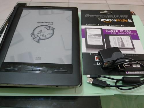E920 閱讀器與相關配件
